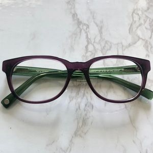 Warby Parker Ainsworth - Berry / Green